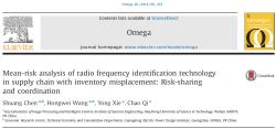 مقاله ترجمه شده تجزیه و تحلیل میانگین ریسک تکنولوژی شناسایی فرکانس رادیویی در زنجیره تامین با جابجایی موجودی